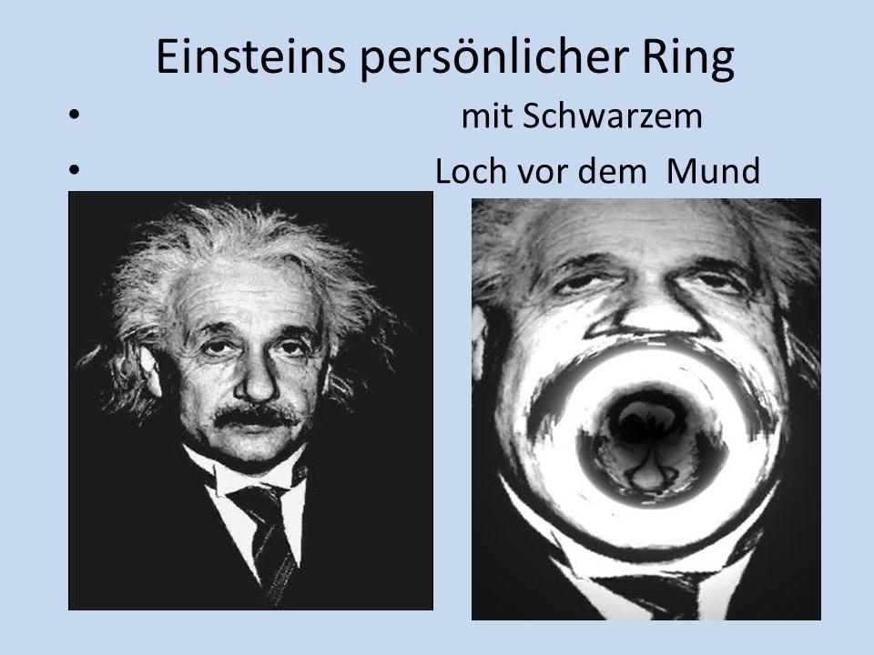 Einstein Ringe Gravitations-Mikrolinsen-Effekt