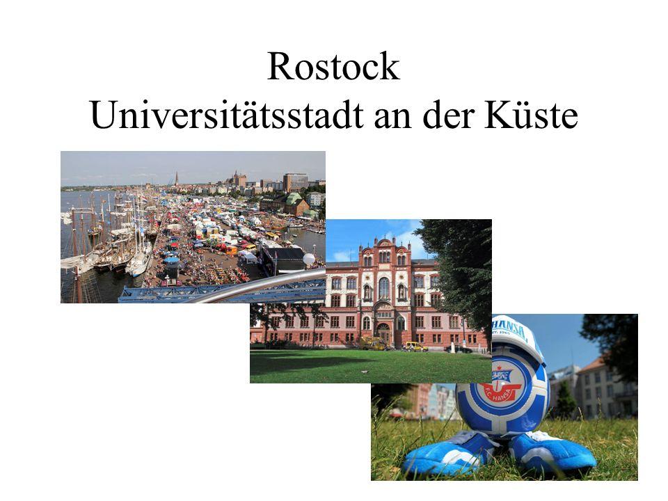 Rostock Universitätsstadt an der Küste