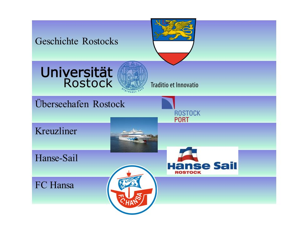 Universität Rostock -1419 als erste Universität im Norden des Heiligen Deutschen Reiches und dem gesamten Ostseeraum gegründet -Drittälteste Hochschule Dt.s -i.