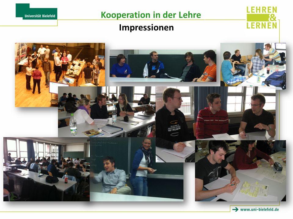 Kooperation in der Lehre Impressionen