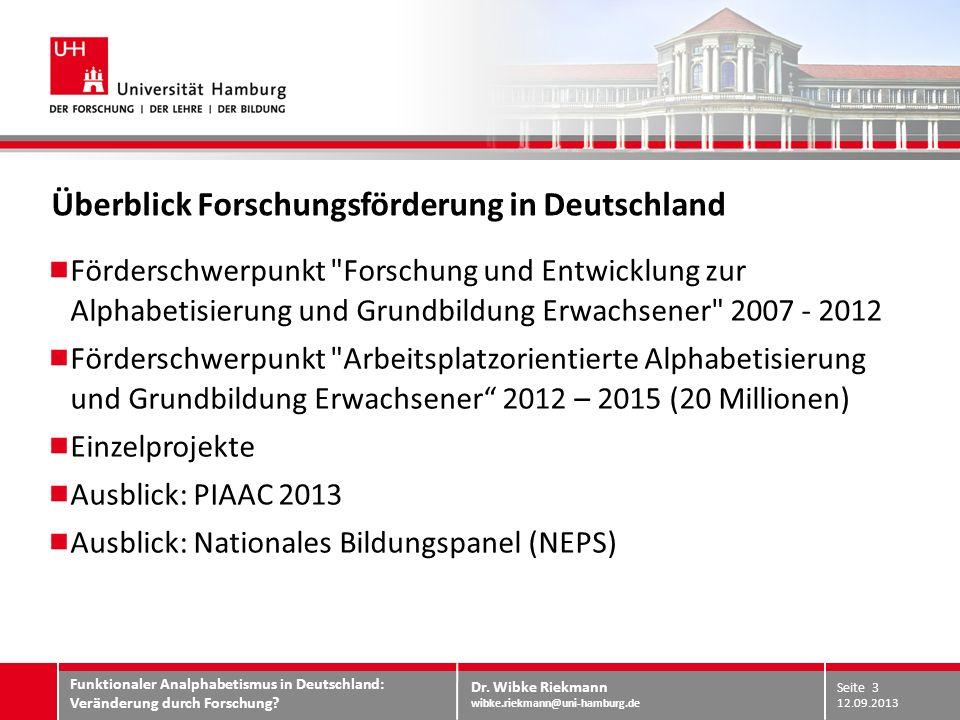 Dr. Wibke Riekmann wibke.riekmann@uni-hamburg.de