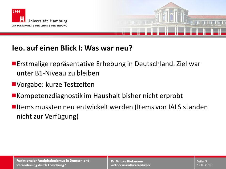 Dr. Wibke Riekmann wibke.riekmann@uni-hamburg.de TEILNEHMENDE VS. ADRESSATEN Resultat II:
