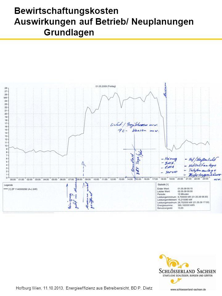 Hofburg Wien, 11.10.2013, Energieeffizienz aus Betreibersicht, BD P. Dietz ENERGIEEFFIZIENZ AUS BETREIBERSICHT Wie kann ein privatwirtschaftlich gefüh