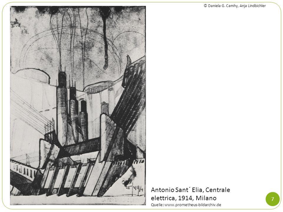 7 Antonio Sant´ Elia, Centrale elettrica, 1914, Milano Quelle: www.prometheus-bildarchiv.de © Daniela G. Camhy, Anja Lindbichler