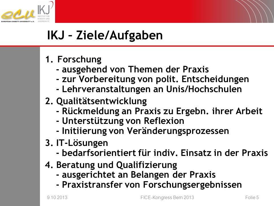 kunstbezogene Angebote 9.10.2013FICE-Kongress Bern 2013Folie 26 Online- Befragung