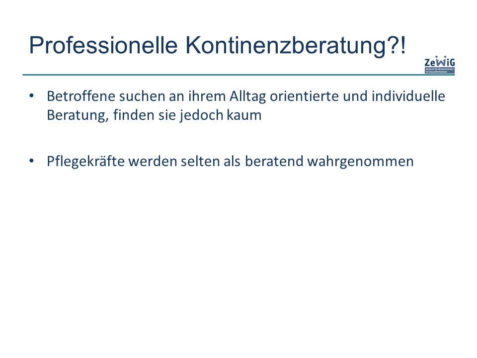 Professionelle Kontinenzberatung?.