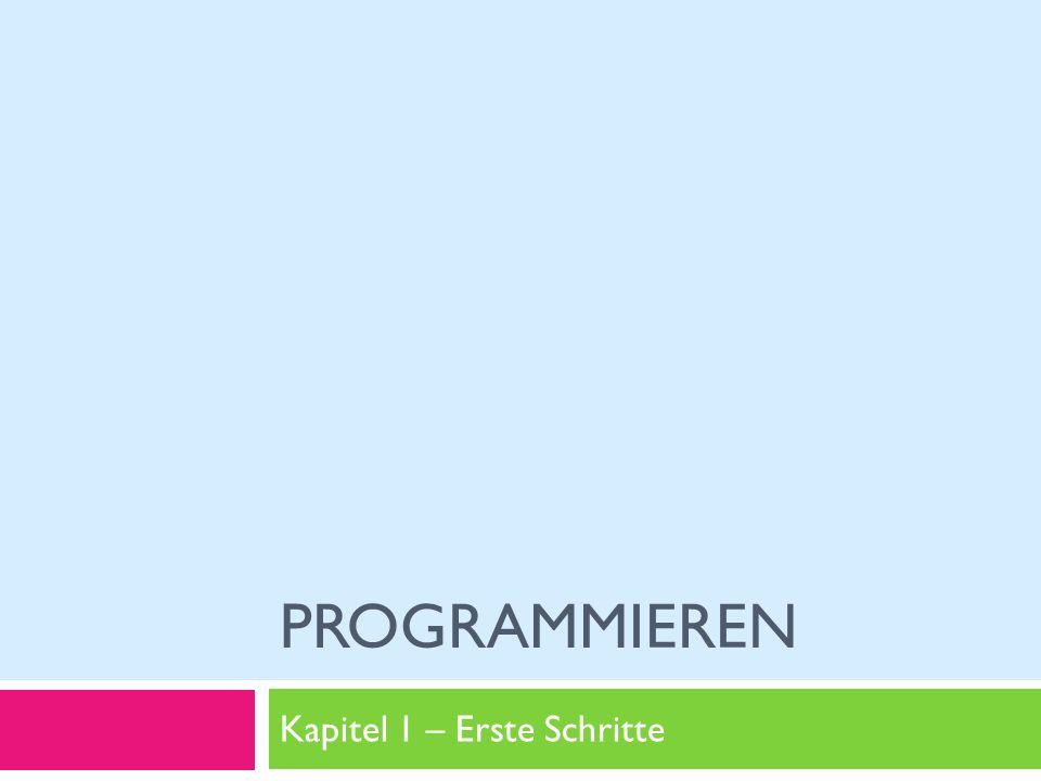 Marco Jakob Ziele von Heute v2.0 Programmieren / Kapitel 1 - Erste Schritte 2 Greenfoot kennen lernen Kara Szenario verstehen Ausführen und schreiben von Programmen