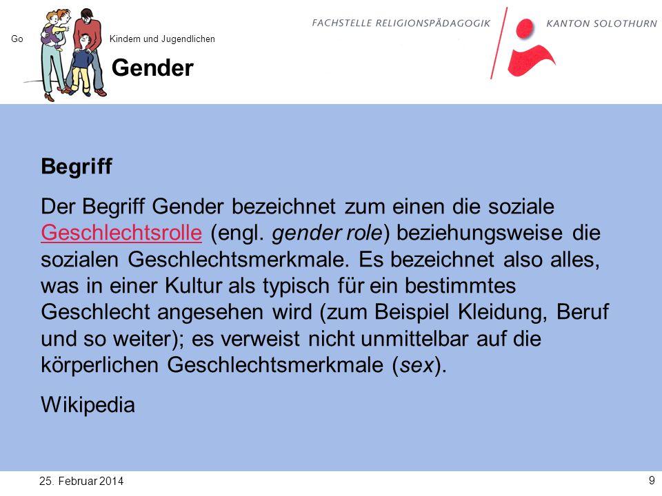 Gender und Religionspädagogik 25.