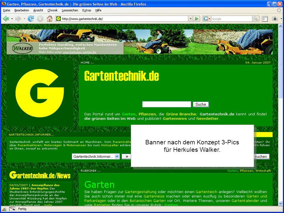 2006 by //SEIBERT/MEDIA Banner nach dem Konzept 3-Pics für Herkules Walker.