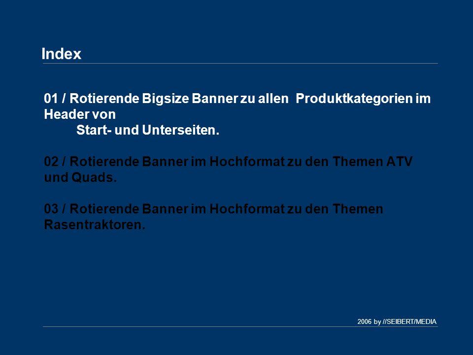 2006 by //SEIBERT/MEDIA Banner nach dem Konzept Multi-Pic für Herkules-Garten.