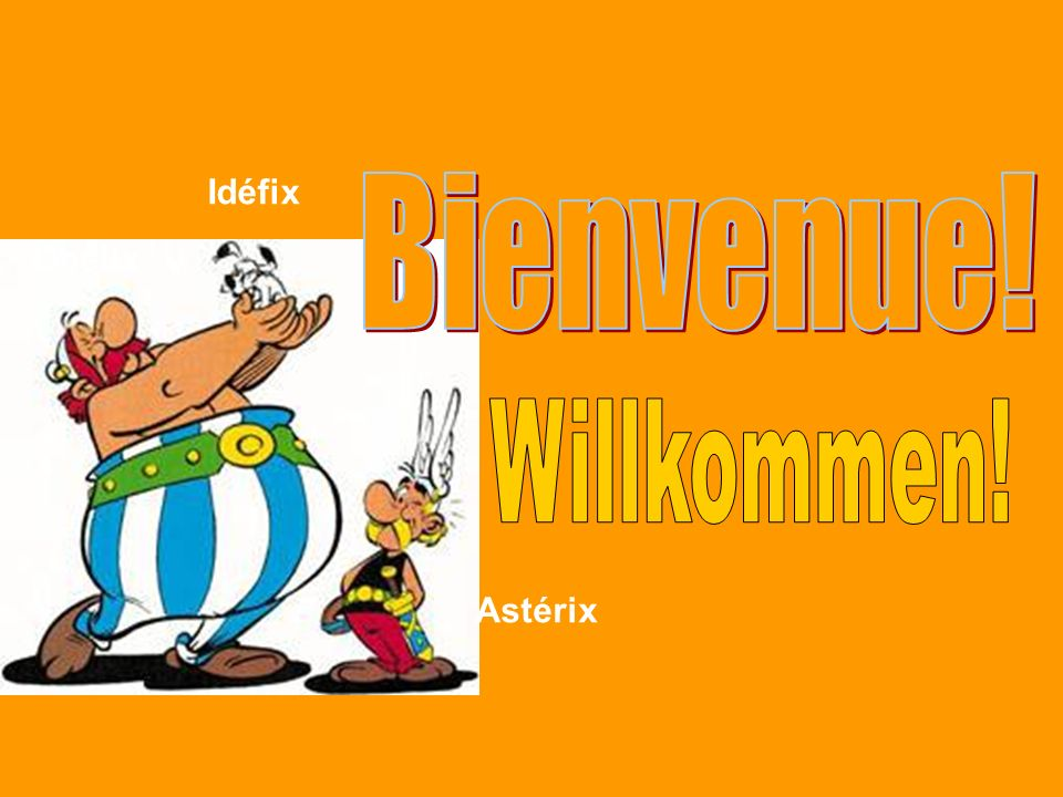 Einige französische Wörter: Könnt ihr sie erraten? La baguette Le portemonnaie Lorange Le parfum