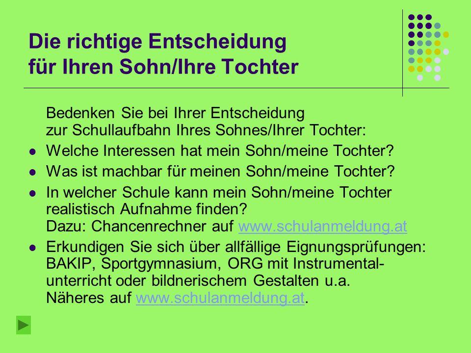 Aufnahme an weiterführenden Schulen 2008/09 Nach der 4. Klasse Hauptschule 26.9.2008
