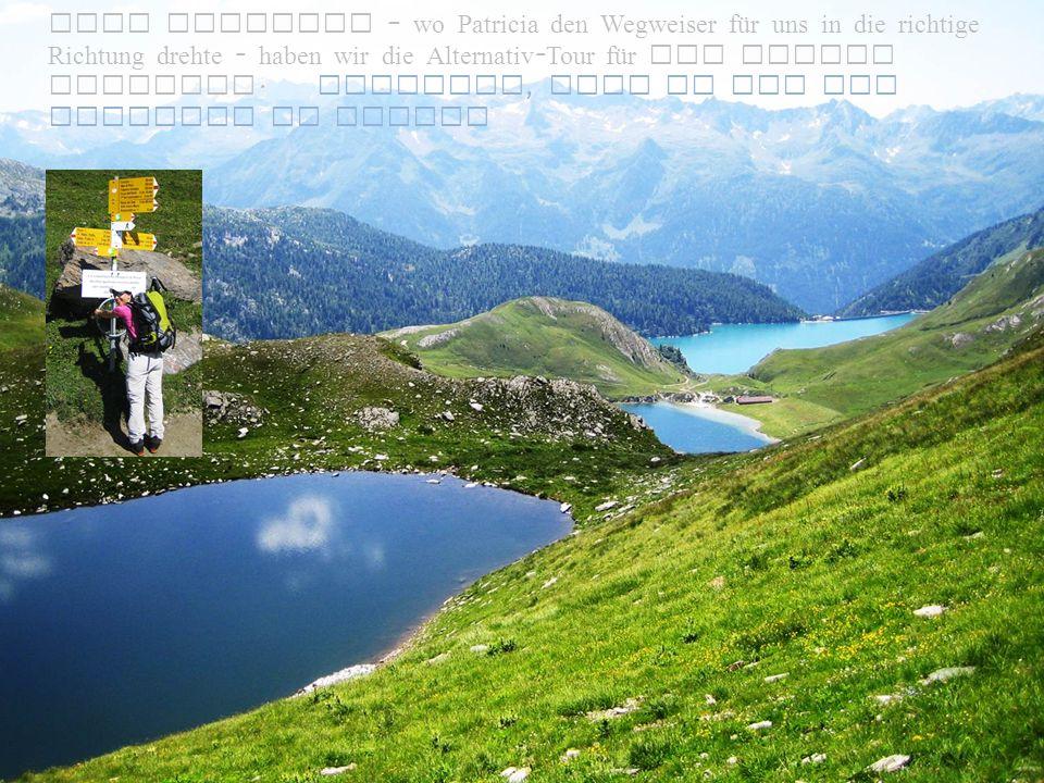 Lago di Tom auf 2022 müM.Herzförmig.