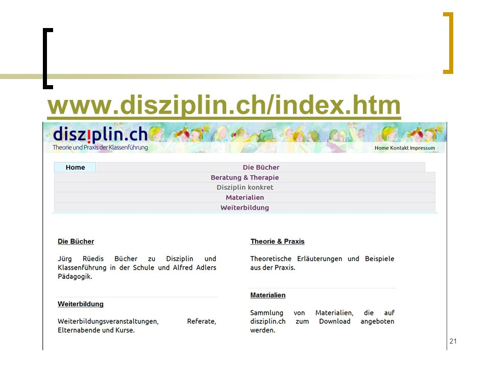 21 www.disziplin.ch/index.htm