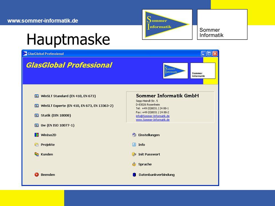 www.sommer-informatik.de Ug-Wert Berechnung