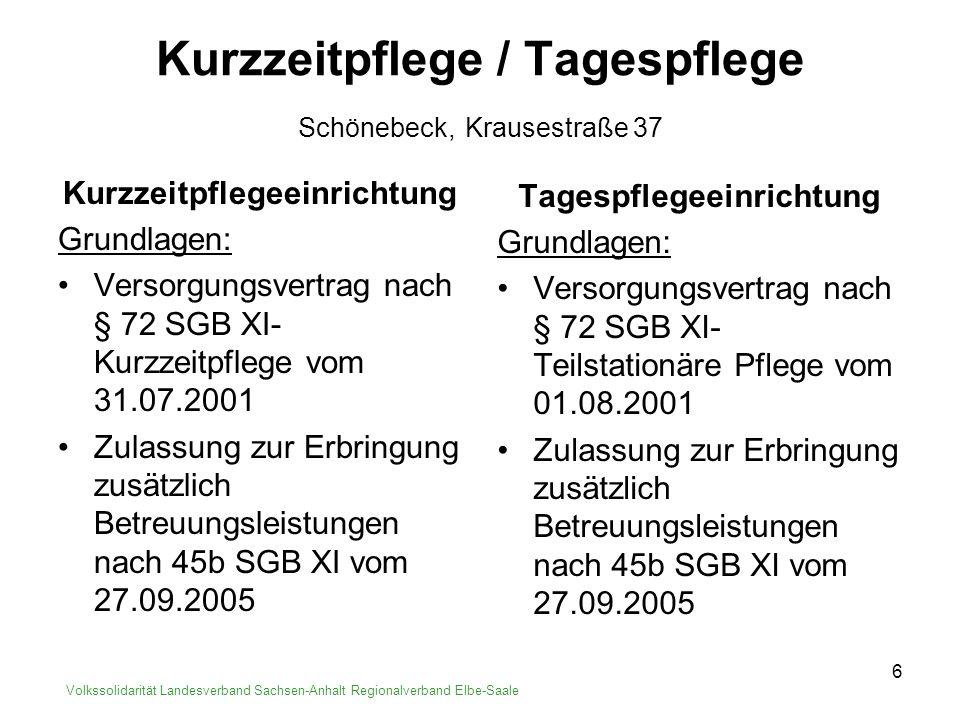 7 Service - Wohnanlagen Saalebogen in Calbe, Nienburger Str.
