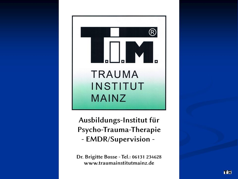 I.Typische Symptomatik nach Traumatisierung 2.