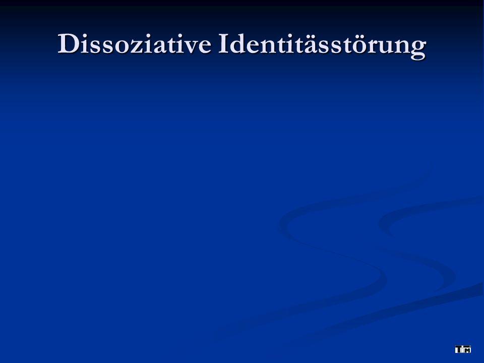Dissoziative Identitässtörung
