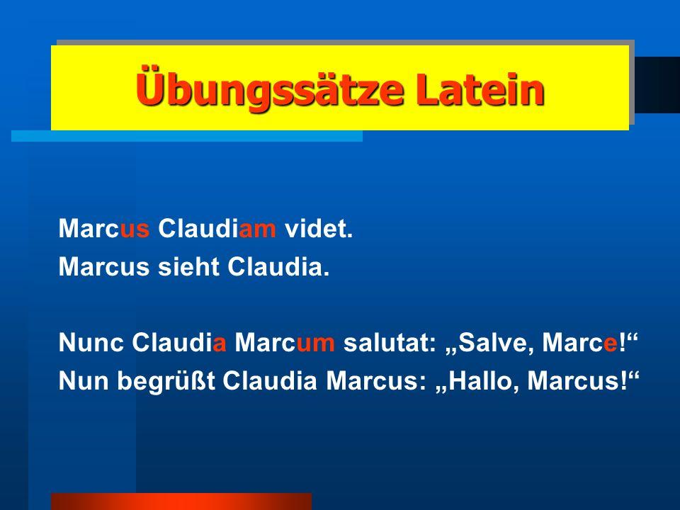 Latein am Amandus Latein ab Klasse 8 3. Fremdsprache Kleines Latinum (nach Klasse 11) Latinum (nach Klasse 12) Lateinkenntnisse als Zulassungsvorausse