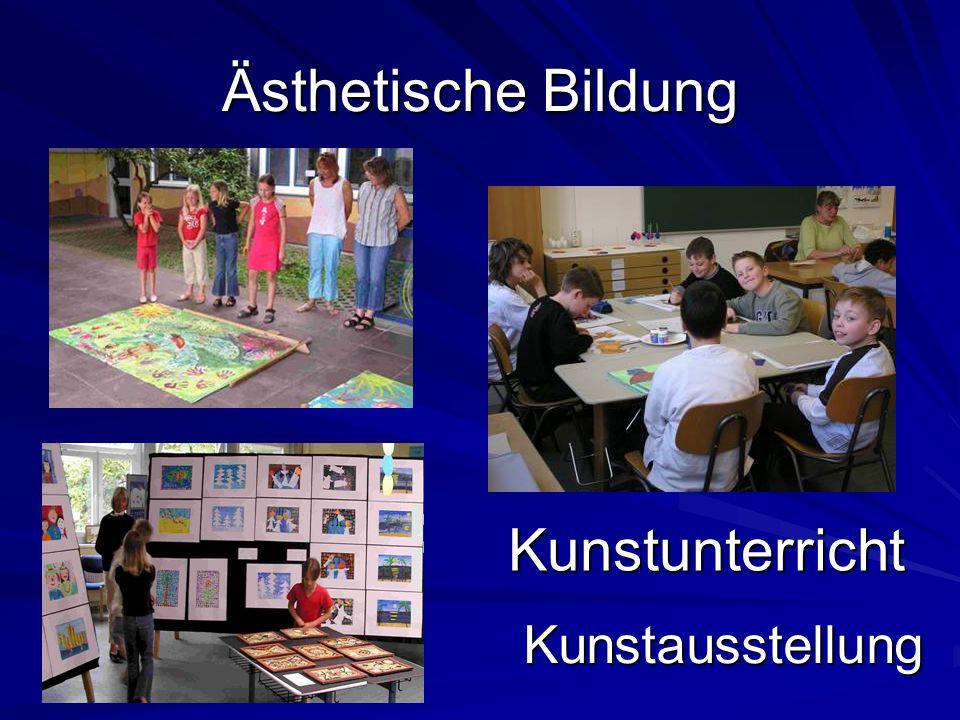 Ästhetische Bildung Kunstunterricht Kunstausstellung