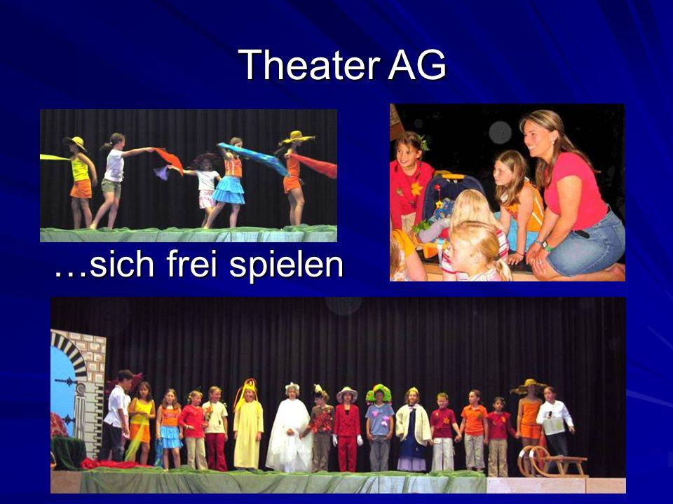 …sich frei spielen Theater AG