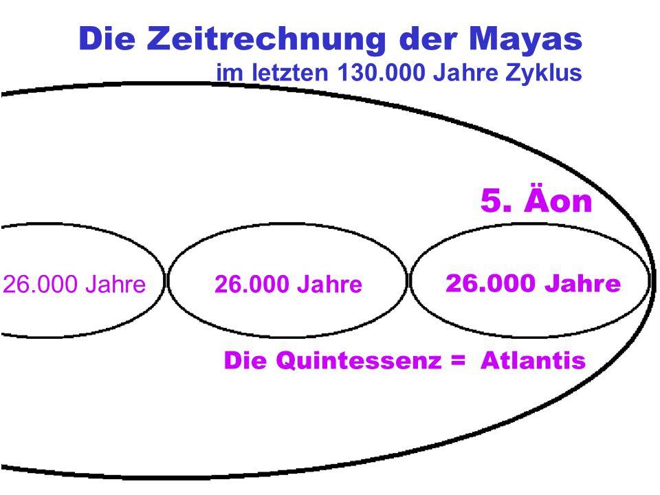 Die Zeitrechnung der Mayas Atlantis 26.000 Jahre 5.
