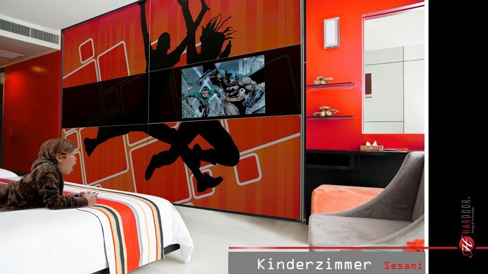 Kinderzimmer Sesami Print TV