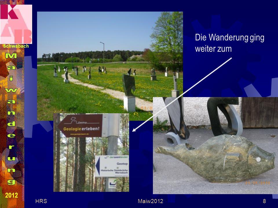 Schwabach 2012 HRSMaiw20128 Die Wanderung ging weiter zum