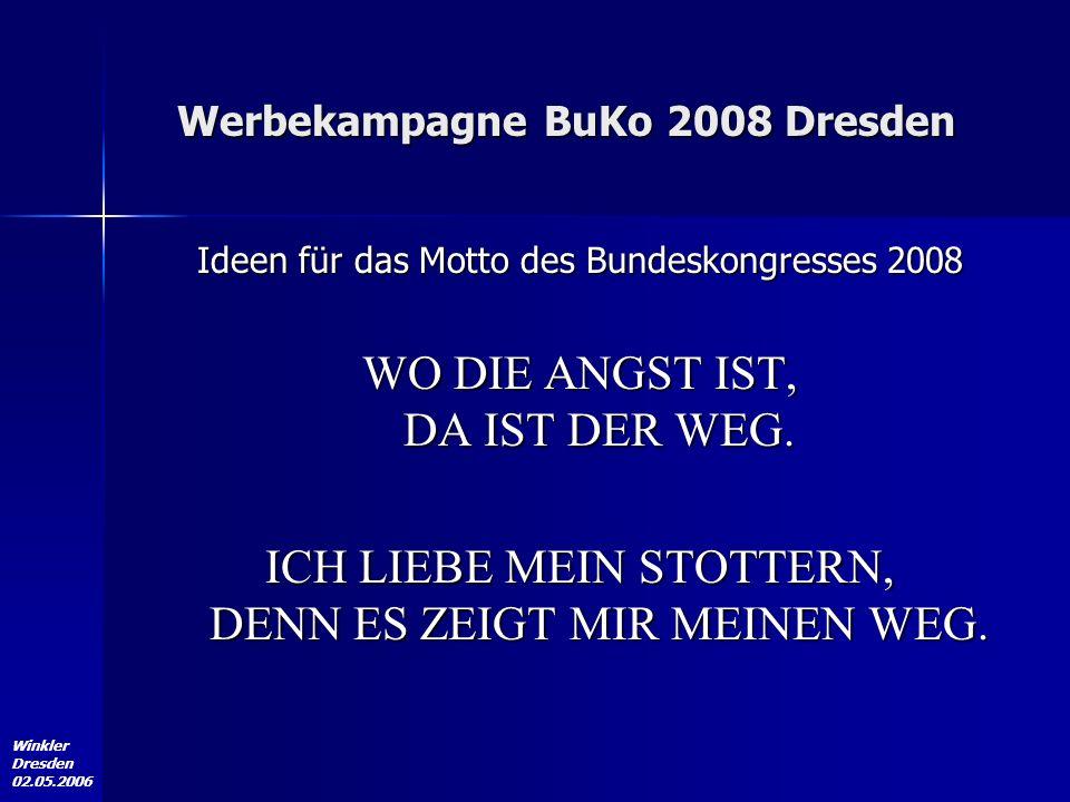 Winkler Dresden 02.05.2006 Bundesvereinigung der Stottererselbsthilfe www.bvss.de PRO VOCE – Gesellschaft für Sprache und Kommunikation e.V.