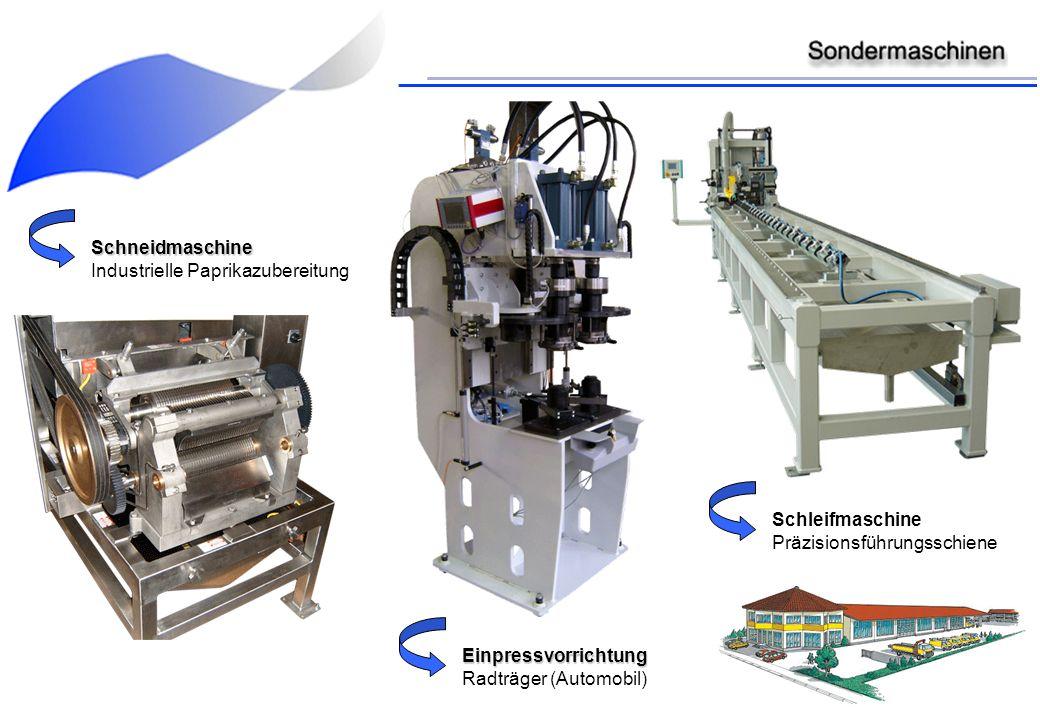 Schneidmaschine Industrielle Paprikazubereitung Einpressvorrichtung Radträger (Automobil) Schleifmaschine Präzisionsführungsschiene