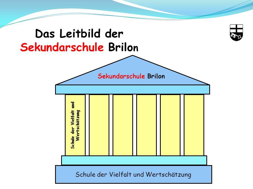 Das Leitbild der Sekundarschule Brilo n Sekundarschule Brilon Schule der Vielfalt und Wertschätzung