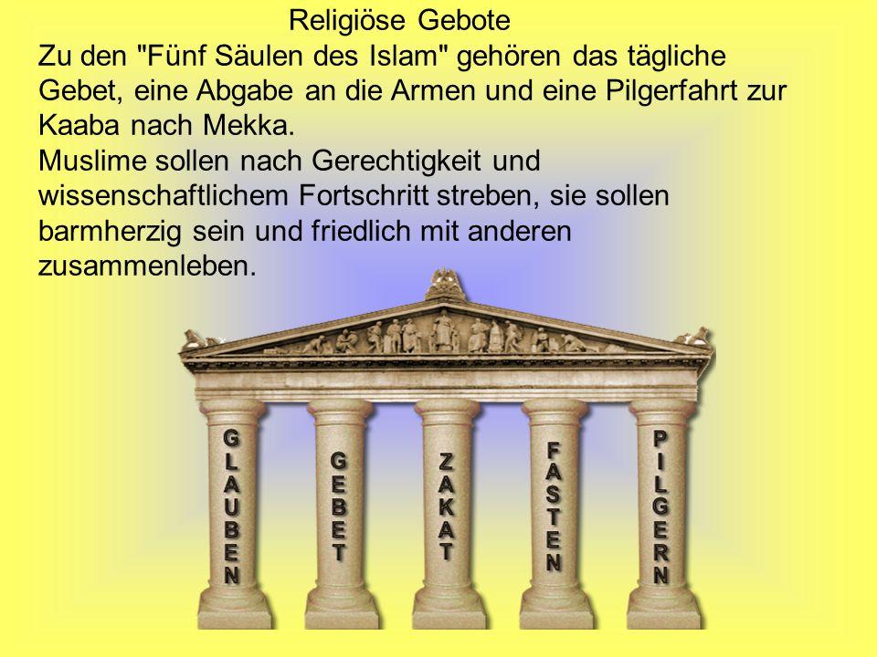 Religiöse Gebote Zu den