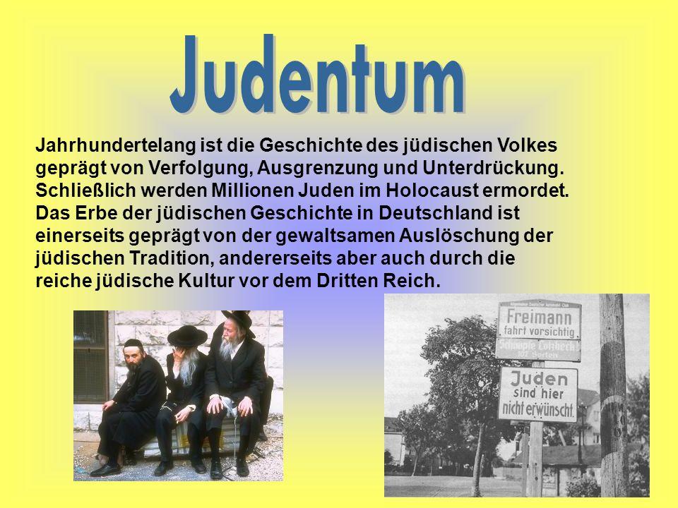 Jahrhundertelang ist die Geschichte des jüdischen Volkes geprägt von Verfolgung, Ausgrenzung und Unterdrückung. Schließlich werden Millionen Juden im
