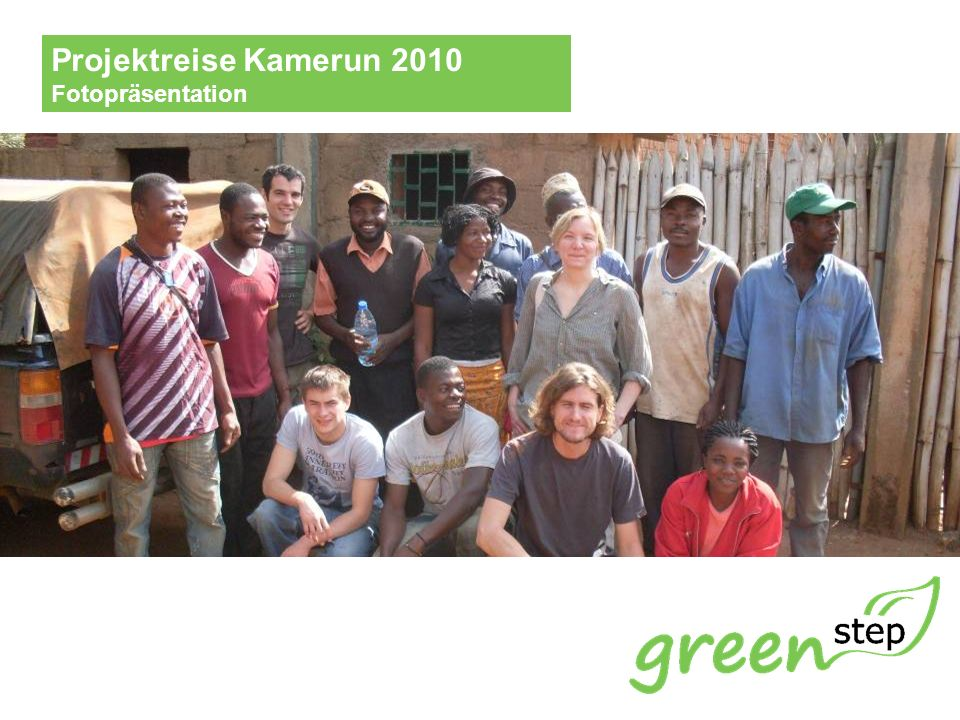 www.green-step.org GREEN STEP e.V.Besuch der Partnerorganisation Nkong Hill Top CIG in Buea.