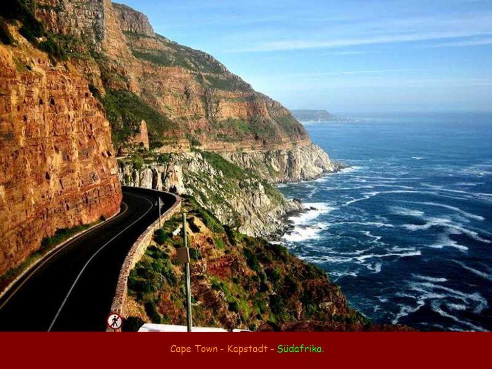 Cape Town - Kapstadt - Südafrika.