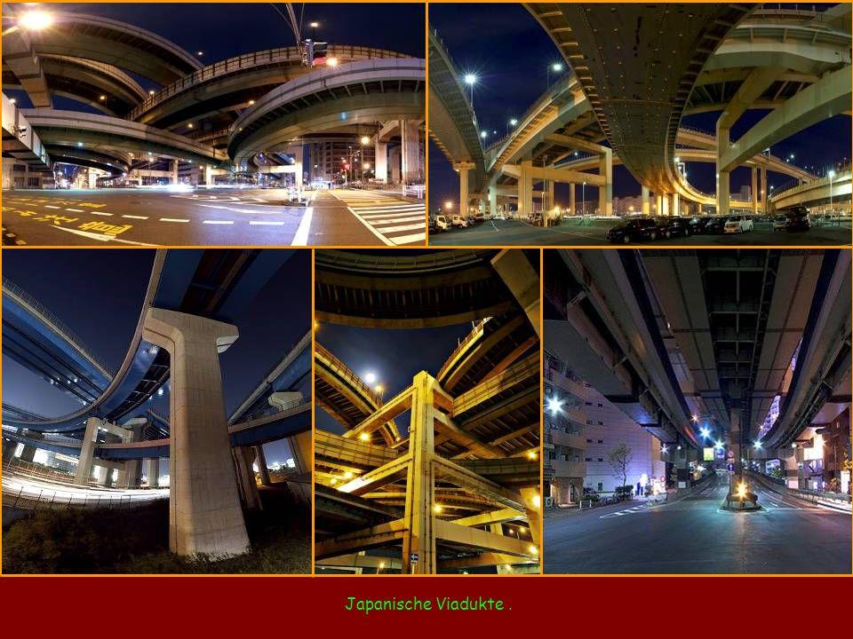 Japanische Viadukte.