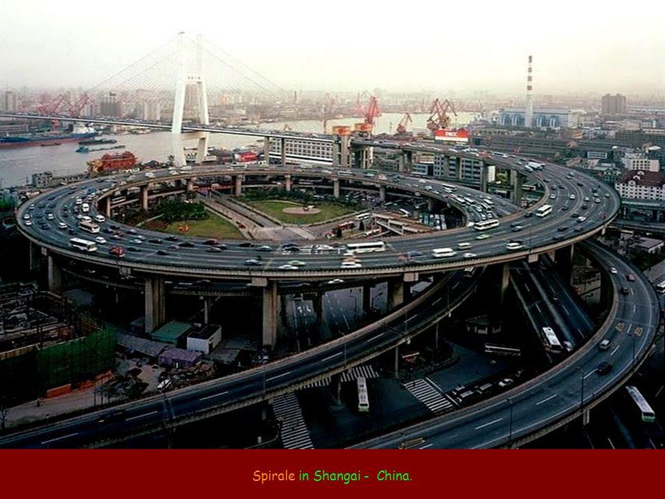 Spirale in Shangai - China.