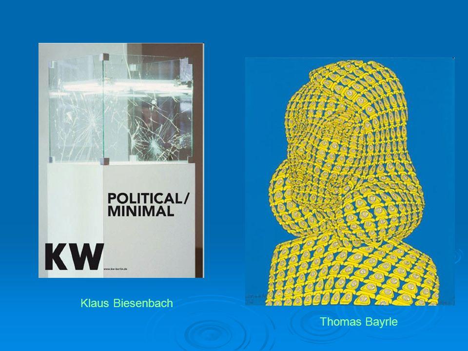 Thomas Bayrle Klaus Biesenbach