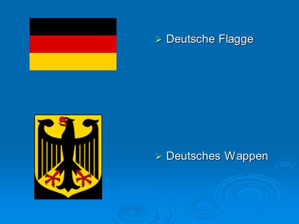 Deutsche Flagge Deutsche Flagge Deutsches Wappen Deutsches Wappen