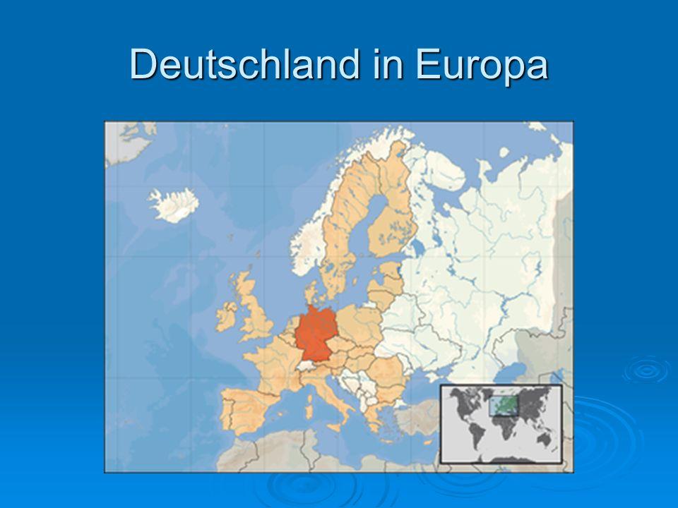 Deutschland in Europa