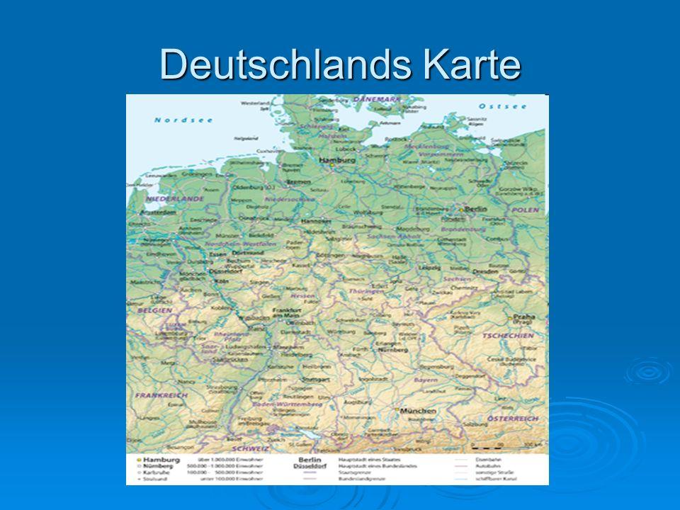 Deutschlands Karte