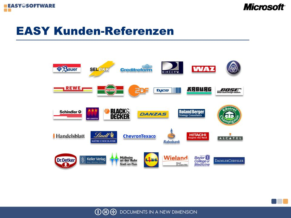 EASY Kunden-Referenzen