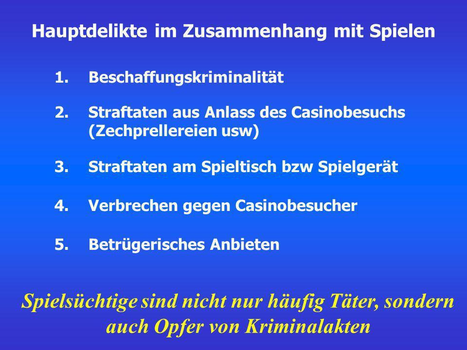 Diagnostische Kriterien für pathologisches Spielen (312.31) nach DSM-IV, 1996: 8.