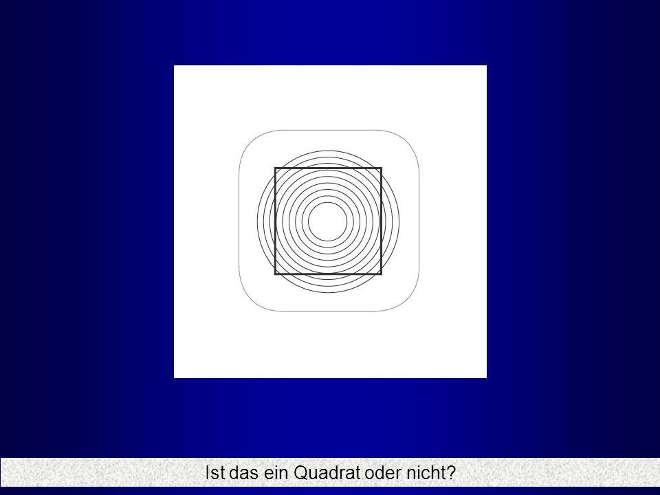 Ist das ein Quadrat oder nicht?