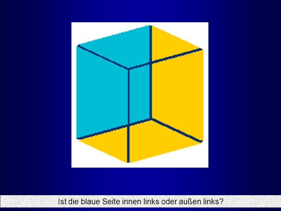 Ist die blaue Seite innen links oder außen links?