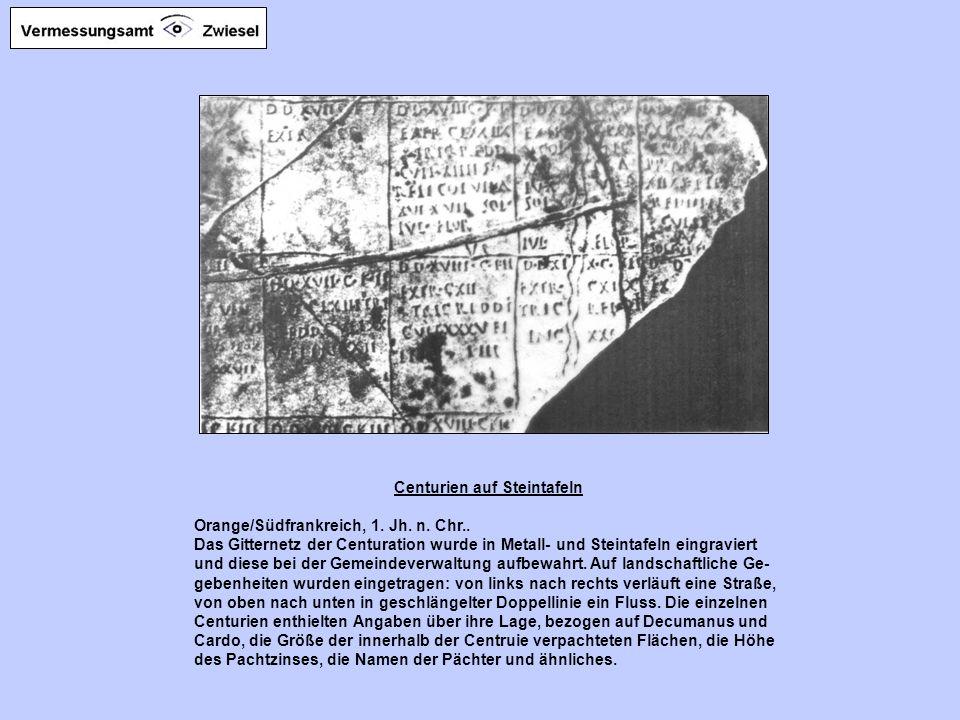 Landschaft mit Centuriation Diese moderne topographische Karte zeigt einen Ausschnitt aus der oberitalienischen Poebene bei Lugo in der Nähe von Raven