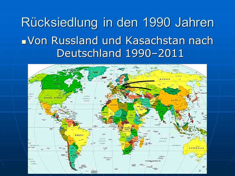 Vertreibung im 2. Weltkrieg durch Stalin 1941 Von Wolga Von Wolga nach nach Sibirien und Sibirien und Kasachstan Kasachstan
