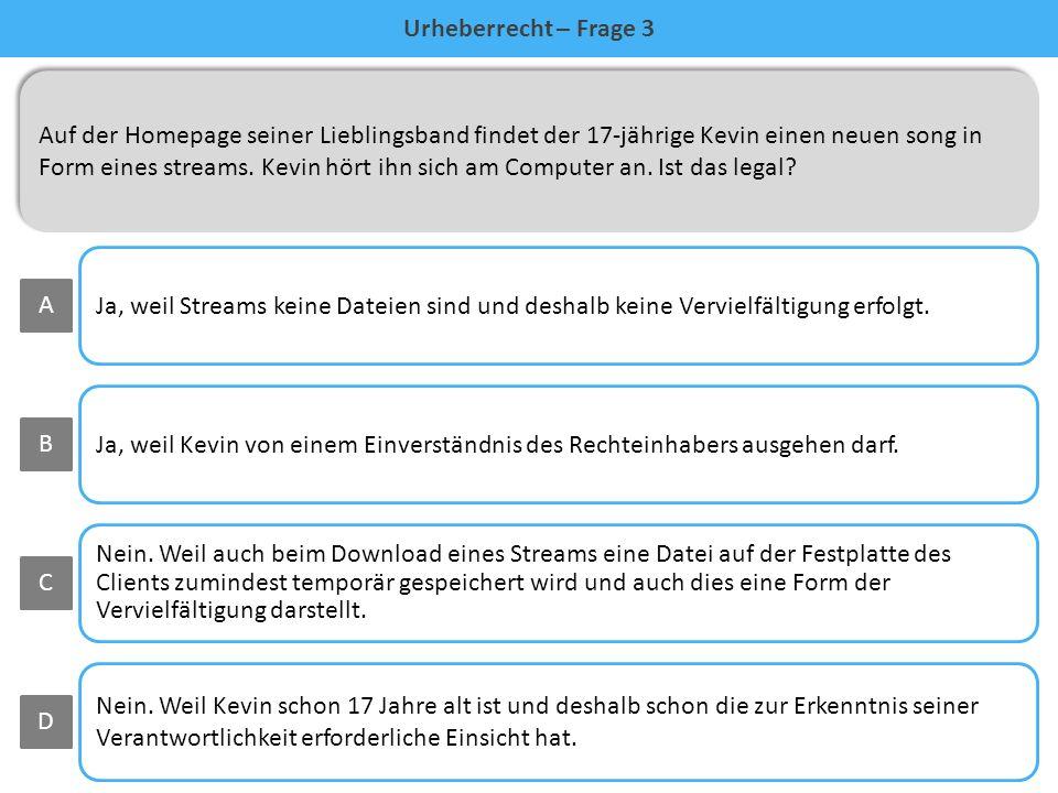 falsch Die MP3-Datei enthält ein Musikstück. Dieses ist ein Werk des Urhebers, also der Musiker (§§ 1 ff UrhG) Diese haben ihre Nutzungsrechte an den