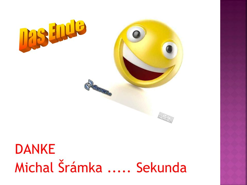 DANKE Michal Šrámka..... Sekunda