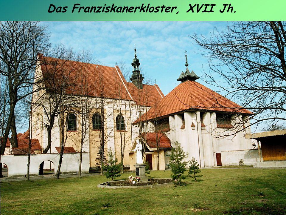 Das Franziskanerkloster, XVII Jh.